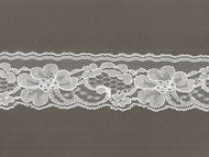"White Edge Lace - Stiff - 2"" (WT0200E50)"