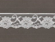 "White Edge Lace - Stiff - 2"" (WT0200E51)"