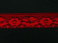 """Red Edge Lace Trim - 0.75"""" (RD0034E01)"""