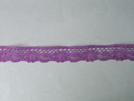"Grape Edge Lace Trim - 0.625"" (GR0058E02)"
