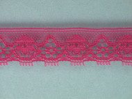 "Raspberry Edge Lace Trim - 0.75"" (RZ0034E01)"