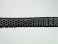 """Black Edge Lace Trim - 0.875"""" (BK0078E02)"""