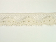 "Ivory Edge Lace Trim - 0.75"" (IV0034E05)"