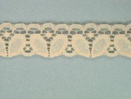 "Beige Edge Lace Trim - 1"" (BG0100E01)"