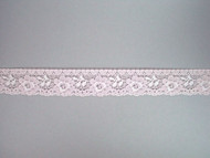 "Lt Pink Edge Lace Trim - 1.25"" (PK0114E01)"