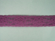 "Grape Edge Lace Trim - 1.125"" (GR0118E02)"