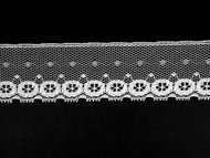 "White Edge Lace Trim - 1.375"" (WT0138E02)"