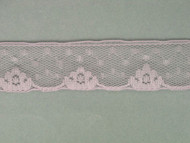 "Lt Lilac Edge Lace Trim - 1.125"" (LC0118E01)"