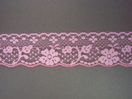 "Pink Edge Lace Trim - 2.125"" (PK0218E01)"