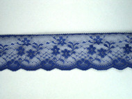 "Blue Edge Lace Trim - 2.25"" (BL0214E01)"