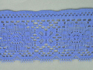 "Sky Blue Edge Lace Trim - 2.5"" (SK0212E01)"