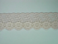 "Bisque Edge Lace Trim - 1.375"" (BQ0138E01)"