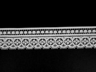"White Edge Lace Trim - 1.375"" (WT0138E05)"