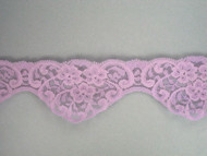 "Lavender Scalloped Lace Trim - 2.5"" (LV0212S01)"