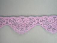 "Lavender Scalloped Lace Trim - 2.5"" (LV0212S01)"