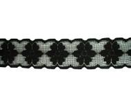"Black Galloon Lace Trim - 2.5"" (BK0212G01)"