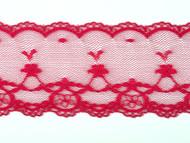 """Wine Red Edge Lace Trim - 2.25"""" (WR0214E01)"""