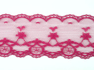 "Raspberry Edge Lace Trim - 2.125"" (RZ0218E01)"