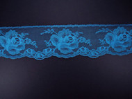 "Azure Blue Edge Lace Trim - 2.625"" (AZ0258E01)"
