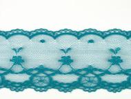 """Teal Edge Lace Trim - 2.375"""" (TL0238E01)"""