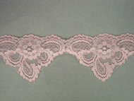"Lt Pink Scalloped Lace Trim - 2.625"" (PK0258S01)"