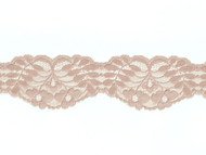 "Cocoa Scalloped Lace Trim - 2.25"" (CC0214S01)"