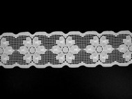 "White Galloon Lace Trim - 2.5"" (WT0212G01)"