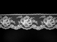 "White Edge Lace Trim - 2.75"" (WT0234E01)"