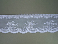 "Lt Blue Edge Lace Trim - 2.375"" (LB0238E01)"