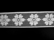 "White Insertion Lace Trim - 2.5"" (WT0212U03)"