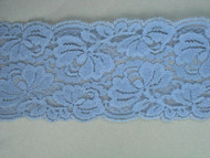 "Sky Blue Galloon Lace Trim - 3.375"" (SK0338G01)"