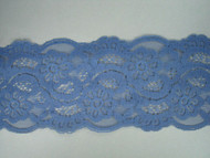 "Md Blue Galloon Lace Trim - 4.5"" (MB0412G02)"
