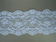 "Lt Blue Galloon Lace Trim - 3.625"" (LB0358G01)"