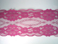 "Raspberry Wine Galloon Lace Trim - 4.75"" (RW0434G01)"