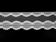 "White Edge Lace Trim - 2.25"" (WT0214E03)"