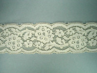 "Ivory Galloon Lace Trim - 3.375"" (IV0338G01)"