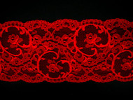 "Red Galloon Lace Trim - 4.75"" (RD0434G01)"