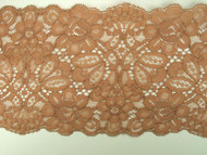 "Cocoa Galloon Lace Trim - 5"" (CC0500G01)"