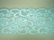 "Aqua Galloon Lace Trim - 5"" (AQ0500G01)"