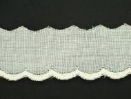 "Ivory Eyelet Trim - 1.125"" (IV0118E03)"