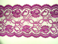 "Grape Galloon Lace Trim - 7.375"" (GR0738G01)"