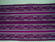 "Grape Galloon Lace Trim - 5.625"" (GR0558G01)"