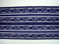 "Royal Blue Galloon Lace Trim - 5.75"" (RB0534G01)"