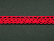 "Red Edge Lace Trim - 0.75"" (364 yards) (RD0034E02W)"