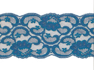 "Peacock Blue Galloon Lace Trim - 5.25"" (PB0514G01)"