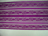 "Purple Galloon Lace Trim - 6"" (PR0600G01)"