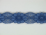"Blue Galloon Lace Trim w/ Sheen - 0.625"" (385 yards) (MB0058G01W)"