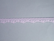 "Lt Pink Edge Lace Trim - 0.5"" (644 yards) (PK0012E01W)"