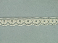 "Ivory Edge Lace Trim - 0.375"" (690 yards) (IV0038E02W)"