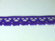 "Royal Blue Edge Lace Trim - 0.5"" (418 yards) (RB0012E01W)"